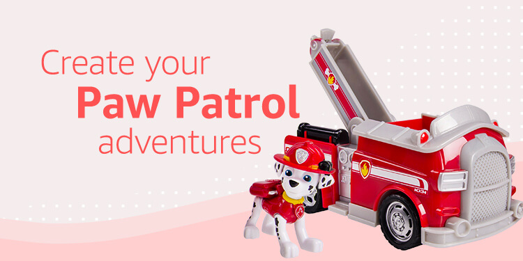 Create your own Paw Patrol adventures