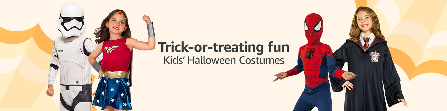 Trick-or-treating fun. Kids' Halloween Costumes