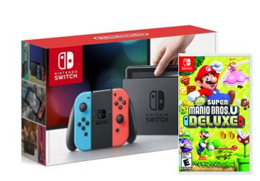 Super Mario Bros U Deluxe Bundle