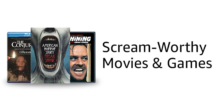 Scream Worthy Movies & Games