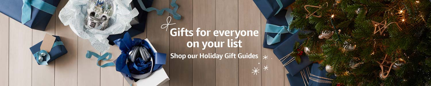 Gifts for everyone on your list: Shop our Holiday Gift Guides