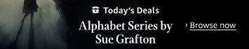 Today only: $2.99 each for titles in The Alphabet series by Sue Grafton