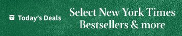 Today only: Up to 80% off select New York Times best sellers & more