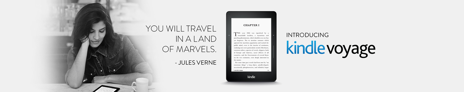 Introducing Kindle Voyage.