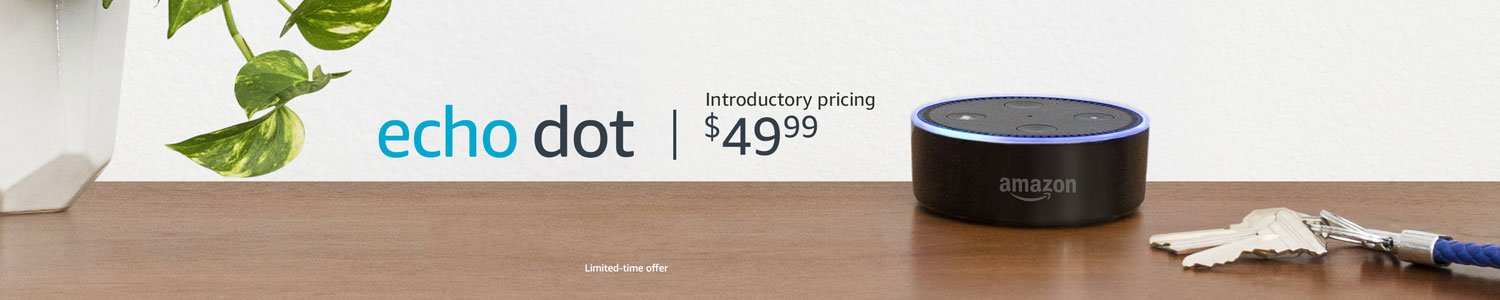 Echo Dot | Introductory pricing CDN$ 49.99 | Limited-time offer