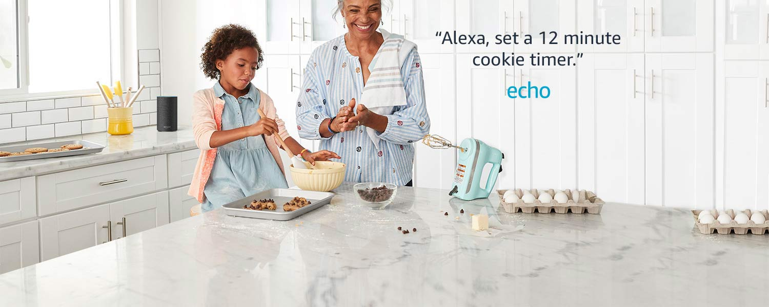 Alexa, set a 12 minute cookie timer | Echo