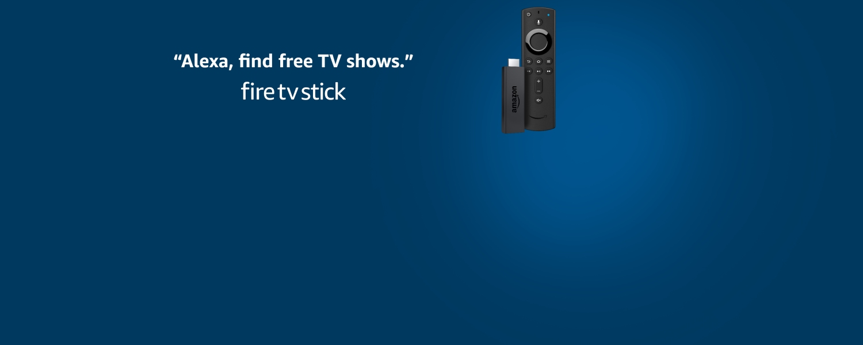 Alexa, find free TV shows. fire tv stick.
