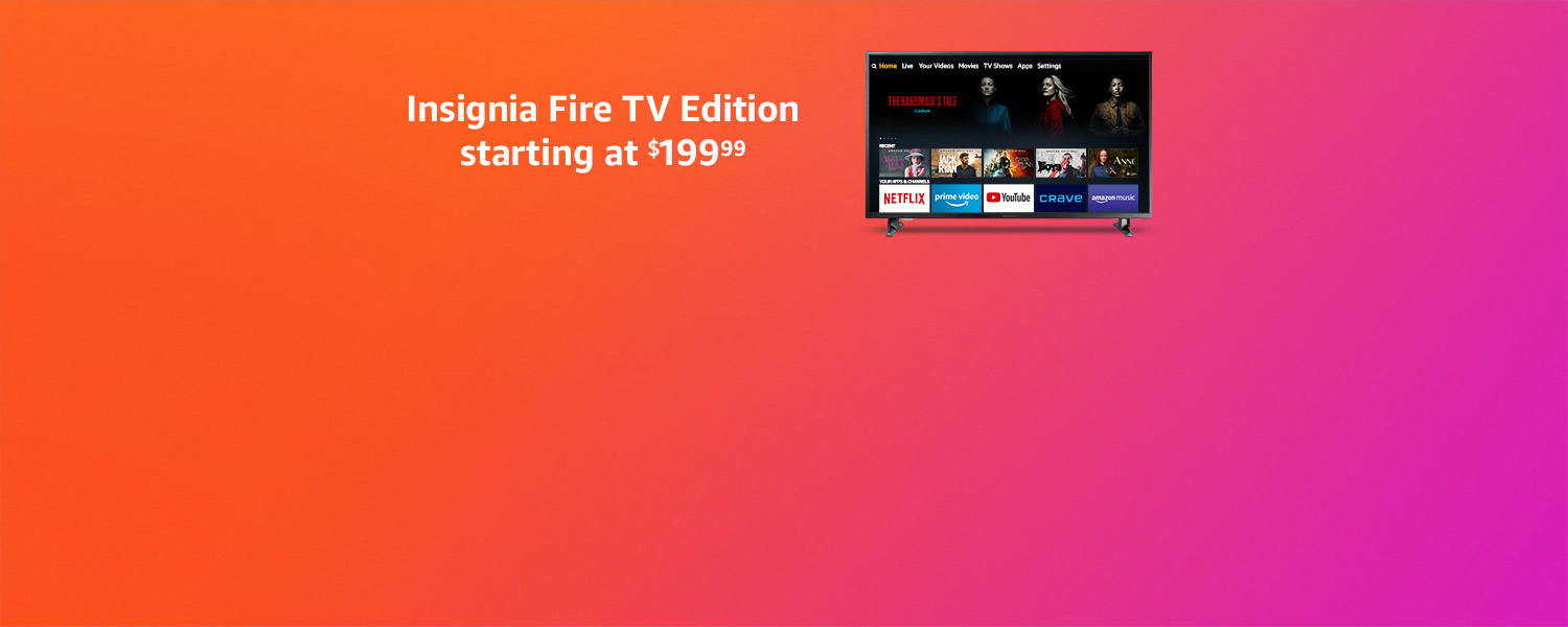 Insignia Fire TV Edition starting at $199.99