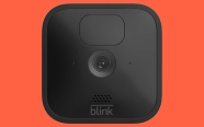 Blink Outdoor on persimmon background. On sale for $84.99 was $129.99