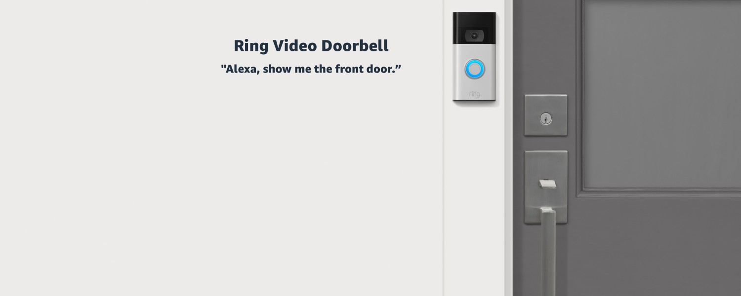 Ring Video Doorbell. Alexa, show me the front door.