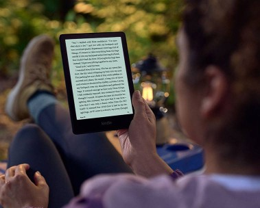 Introducing Kindle Paperwhite Signature Edition. See more