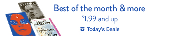 $1.99 and up Best of the Month and more, today only
