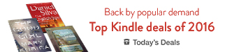 Back by popular demand, the top Kindle deals of 2016 $1.99 and up, today only