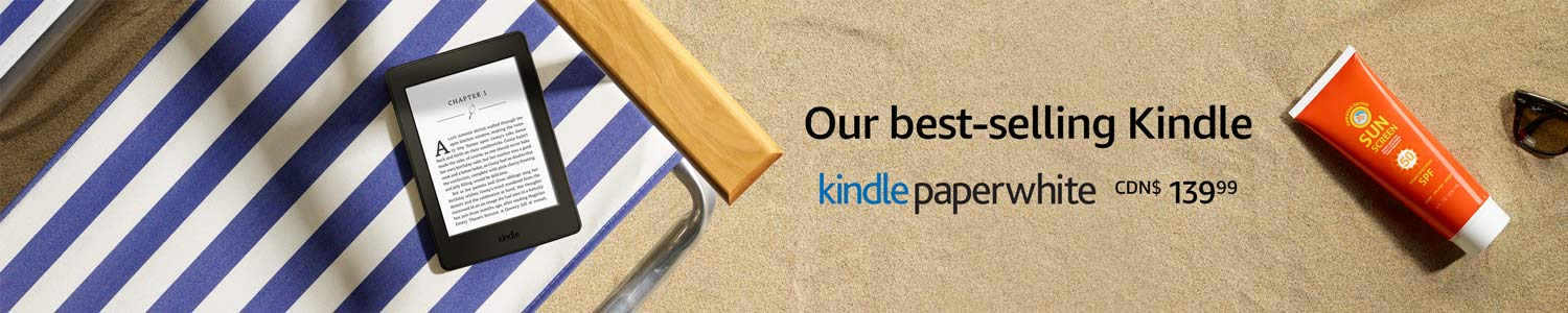 Our best-selling Kindle Paperwhite
