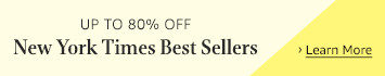 Up to 80% off on select New York Times best sellers