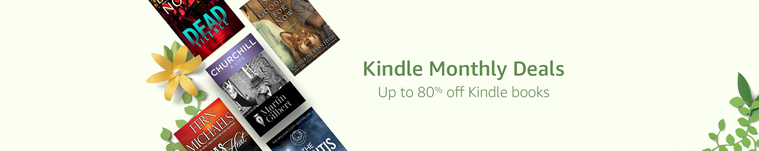 Get up to 80% off Kindle books