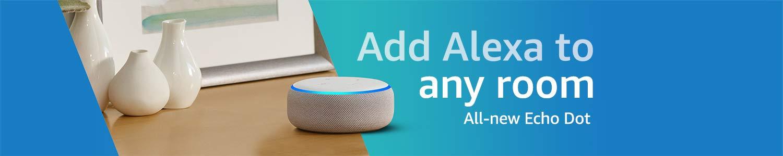 All-new Echo Dot | Add Alexa to any room