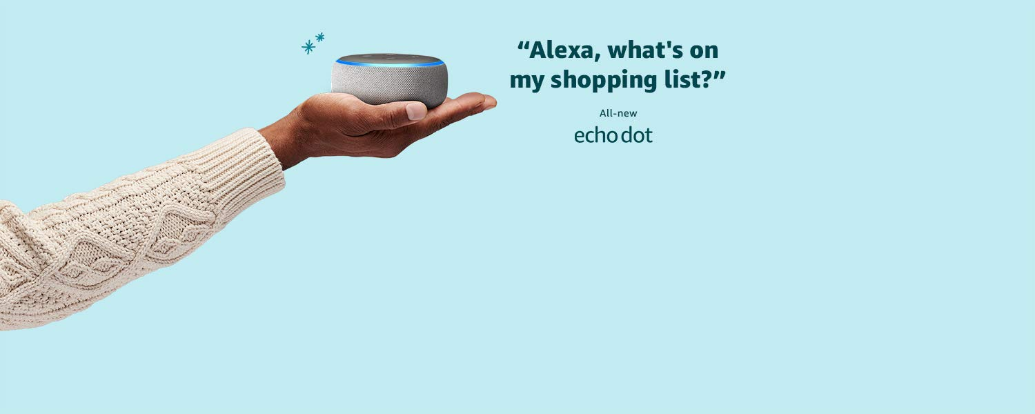 Echo Dot | Alexa, what's on my shopping list?