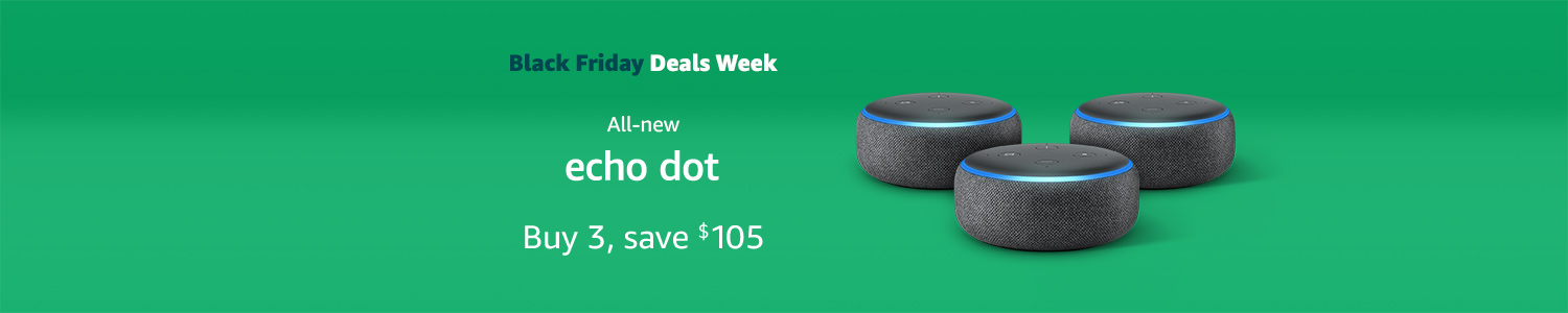Echo Dot | Buy 3, save $105