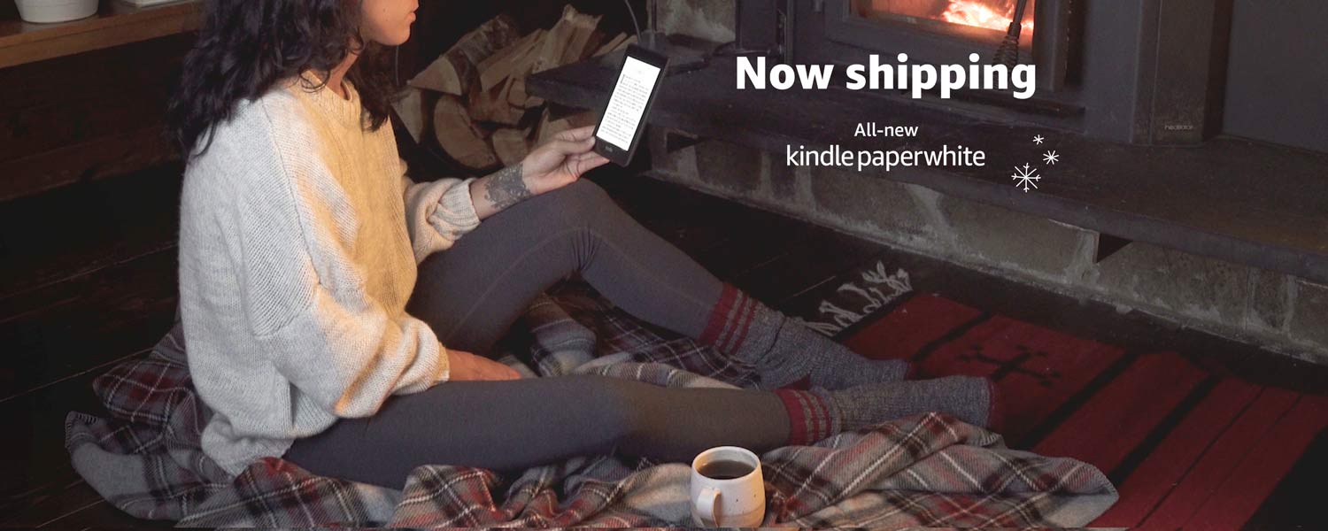Now shipping. All-new Kindle Paperwhite.