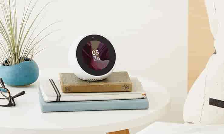 Echo Spot on table
