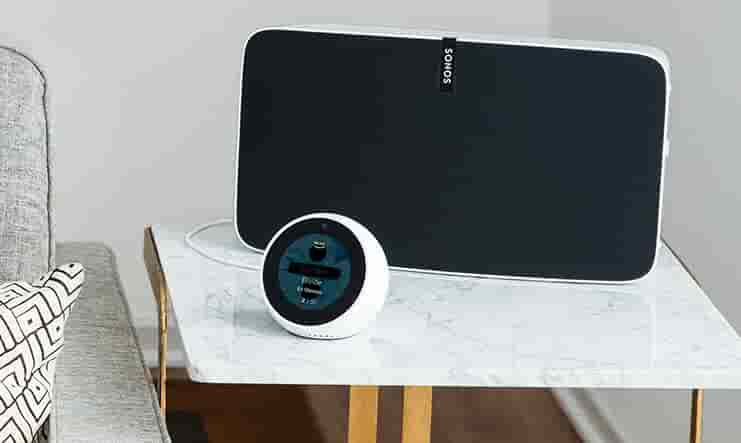 Echo Spot with speaker