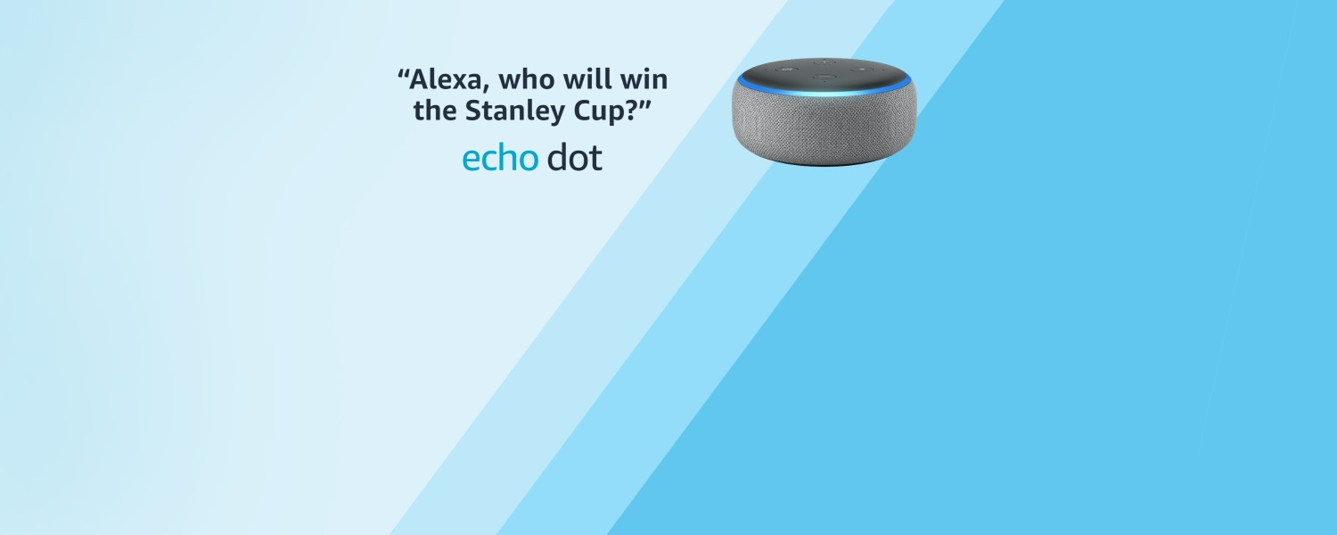 Alexa, who will win the Stanley Cup? | Echo Dot