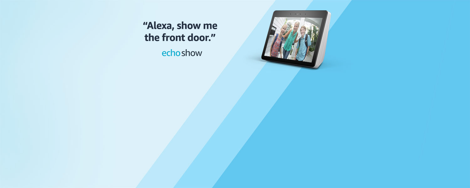 Alexa, show me the front door. | Echo Show