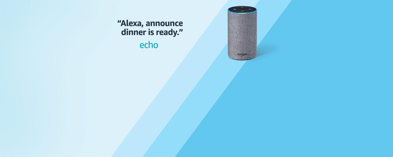 Alexa, announce dinner is ready | Echo