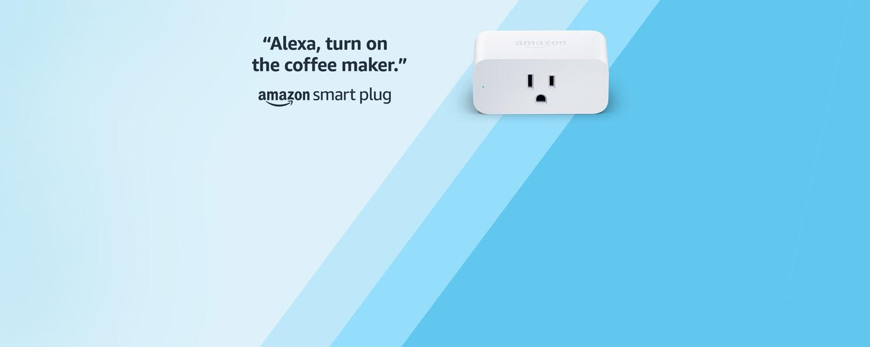 Alexa, turn on the coffee maker | Amazon Smart Plug