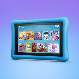 Introducing the Fire HD 8 Kids Edition tablet.
