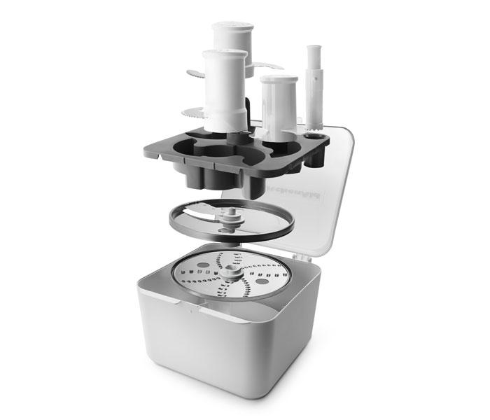 Kitchenaid Kfp1333cu 13 Cup Food Processor Contour Silver