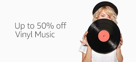 Up to 50% off vinyl