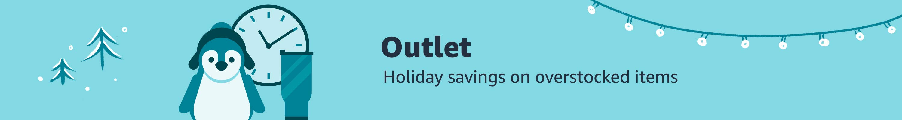 Outlet: Holiday savings on overstocked items