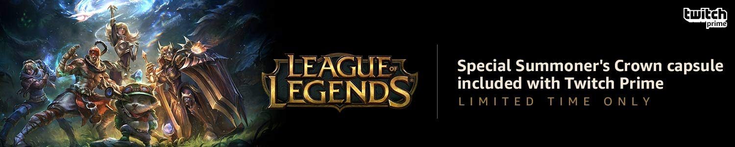 League of Legends limited time offer