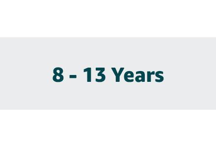 8-13 Years