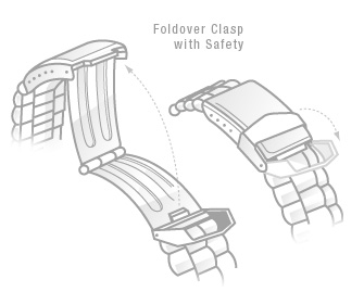 Foldover with Safety Clasp
