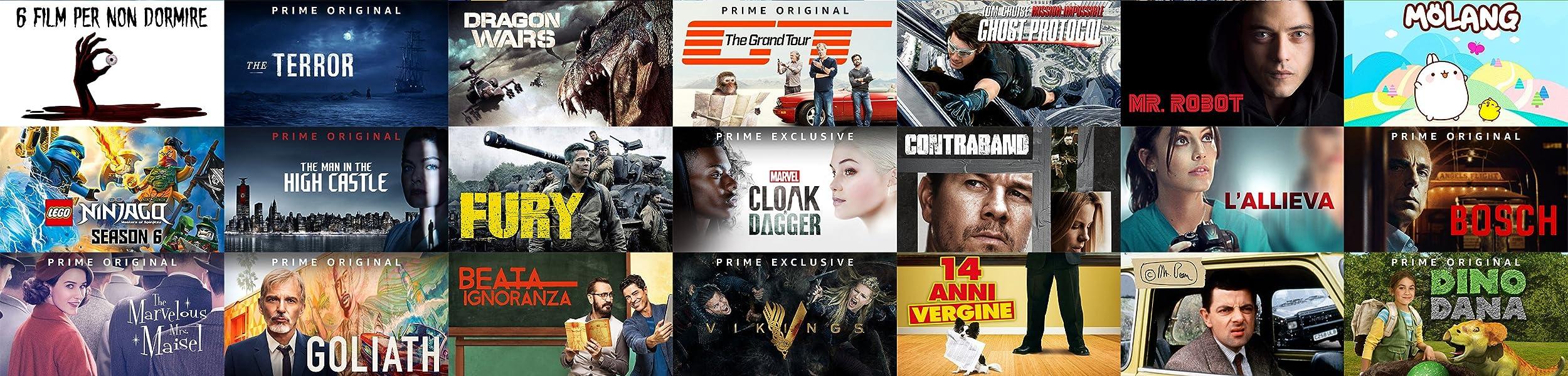 Guarda film e serie TV in streaming con Prime Video