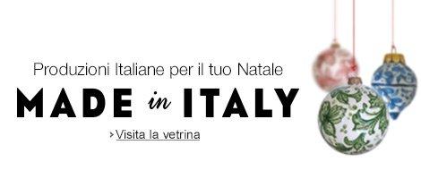 Produzioni Italiane per il tuo Natale