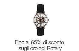 Fino al 65% di sconto sugli Orologi Rotary