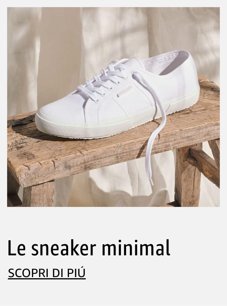 Le sneaker minimal