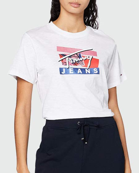 Tommy Jeans Logo Tee