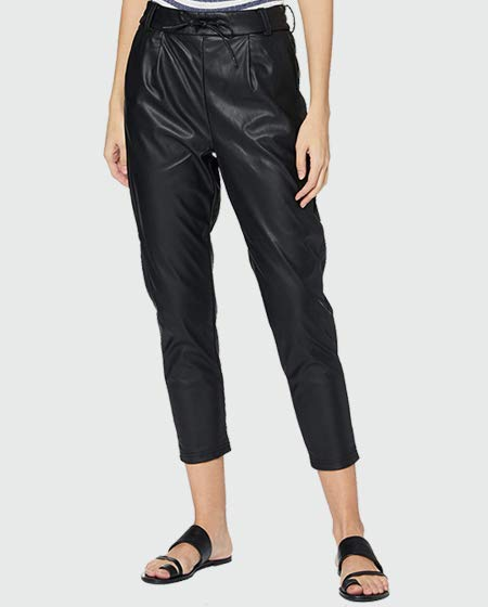 ONLY Faux Leather Trousers