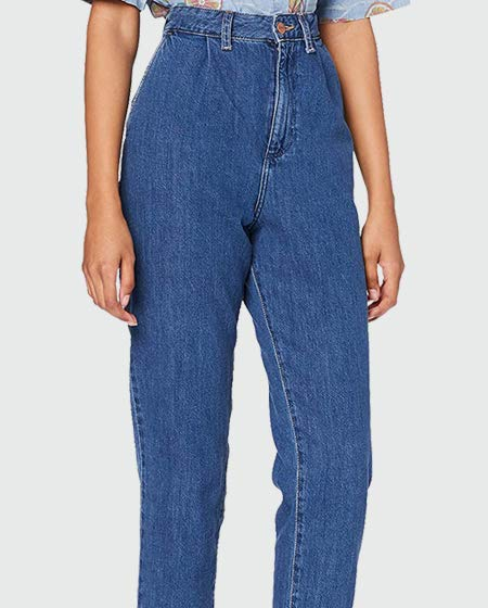 Wrangler Women's Mom Chino Jeans