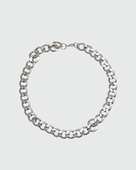 Urban Classics Big Chain Necklace, Silver