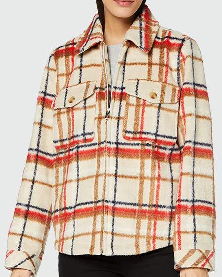 TOM TAILOR Women's Karo Jacket