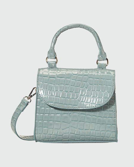 Top Handle Crossbody Bag by The Drop