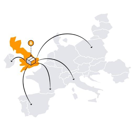 Réseau de distribution européen Amazon