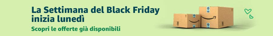 La Settimana del Black Friday inizia lunedì, scopri le offerte già disponibili