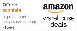 Amazon warehousedeals: offerte su prodotti usati con garanzia Amazon